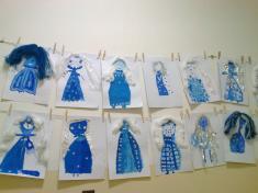 """Výtvarná výchova - tvoříme na téma """"zima"""""""