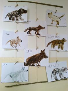 Výtvarná výchova - Den zvířat