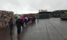 Exkurze na skládku v Černošíně