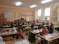Předškoláci v 1. třídě
